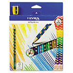 LYRA Groove Slim Colored Pencils, Assorted, 24 per Pack