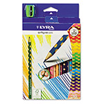 LYRA Groove Slim Colored Pencils, Assorted, 36 per Pack