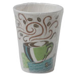Dixie® PerfecTouch Hot Cups, 8 oz., Coffee Dreams Design, Individually Wrapped, 50/Bag