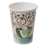 Dixie PerfecTouch® Hot Cups, Paper, 12oz, Coffee Dreams Design, 1000/Carton