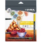 LYRA Dual Tip Marker, Assorted, 12 per Pack