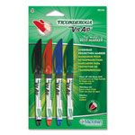 Dixon Ticonderoga Overhead Projection Markers, Odorless, Fade Resistant, 4 Colors