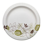 "Dixie Pathways Soak Proof Shield Heavyweight Paper Plates, WiseSize, 10 1/8"", 500/Ctn"