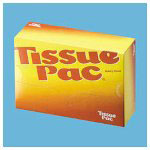 "Dixie DIX T8 Tissue-Pac White Dry Wax Interfolded Bakery Tissue, 8"" x 10 3/4"""