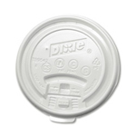 Dixie Clear Tear Back Lids for 8 oz Hot Cups