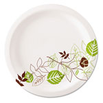 "Dixie 6.88"" UltraLux Heavy Weight Paper Plates, Pathways"