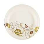 "Dixie 8.5"" UltraLux Heavy Weight Paper Plates, Pathways, 4/125"