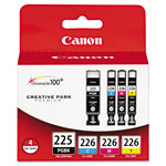 Canon PGI-225/CLI-226 4 Color Pack - Ink Tank