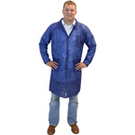 The Safety Zone Blue Lab Coat, 2X