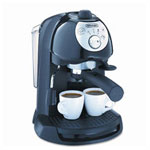 Delonghi Black BAR32 Retro Style Espresso Maker