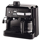 Dell® Combination Coffee and Espresso Machine, Black/Silver