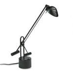 "Dana Lighting Counter Balanced Halogen Desk Lamp, 22"" Reach, Black"