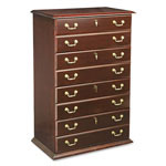 DMI Furniture Governor's Series Four Drawer Lateral File, Mahogany, 36w x 22d x 56h