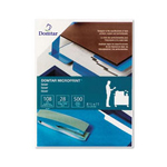 "Domtar Microprint 28-Lb. 8 1/2"" x 11"" White Laser Paper"