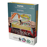 Domtar First Choice Copy Paper, 8 1/2 x 11 (Letter), 98 Bright, 28 lb
