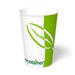 ecotainer Paper Cold Cup, 16 oz.