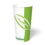 ecotainer Paper Cold Cup, 22 oz.