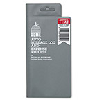 Dome Publishing Company Auto Mileage Log & Expense Record, 324 Trips, 3 1/2x6 1/2, 140 Pages