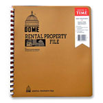 "Dome Publishing Company Rental Property File, w/ Inside Pockets, Not Dated, 9-3/4"" x 11"""