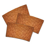 Dopaco® Kraft Hot Cup Sleeves, For 10-24 oz Cups, Brown, 1000/Carton