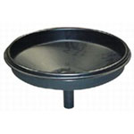 "John Dow Industries 16"" Poly Replacement Funnel"