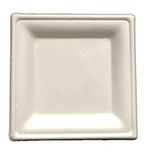 "Primeware 6"" Diamond Collection Square Plate"
