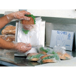 Elkay Clear Saddle Pack Sandwich Bag, 6-1/2 x 7