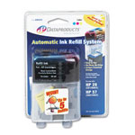 Data Products 60405 Tri-Color Inkjet Auto Refill Kit System, Standard Yield