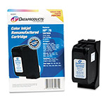 Data Products 60261 Compatible Remanufactured Ink, 650 Page-Yield, Tri-Color