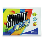 Shout Shout Shout Instant Stain Treater Wipes, 5 x 6, 80 Towelettes/Carton