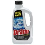 Diversey Liquid Drain Cleaner, 32 oz Safety Cap Bottle, 12/Carton