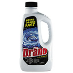 Diversey Liquid Drain Cleaner, 32 oz. Safety Cap Bottle