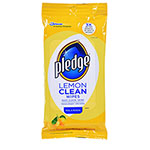 Pledge® Lemon Scent Wet Wipes
