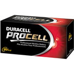 Duracell PC1604BKD Procell Industrial 9V Alkaline Batteries