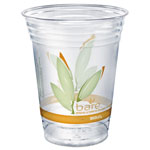 Solo Bare Eco-Forward RPET Cold Cups, 16-18 oz, Clear, 50/Pack
