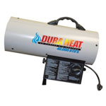 Dura Heat Forced Air Propane Heater, 40,000 BTU, Heats Up to 900 Square Feet, with LP Regulator