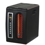 Dura Heat Quartz Electric Heater, with High Volume Fan, Three Infrared Heating Elements, LED Display, 5120 BTU