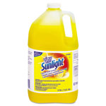 Sunlight Liquid Dish Detergent, Lemon Scent, 1 gal Bottle, 4/Carton