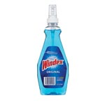 Windex RTU Ammonia-D Glass Cleaner, Neutral, 12oz, Pump Bottle, 12/Carton