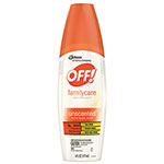 OFF!® Family Care Insect Repellent Spray, 6 oz Spray Bottle, Unscented