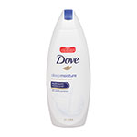 Dove Deep Moisture Nourishing Body Wash, White, 22 oz., 6 Bottles/Carton