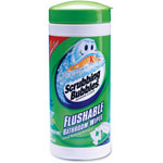 Scrubbing Bubbles Flushable Wipes