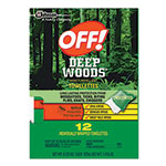 OFF!® Deep Woods Towelette Wipes