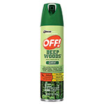 OFF! OFF Deep Woods Dry Insect Repellent, 4oz, Aerosol, Neutral