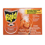 Raid® Concentrated Deep Reach Fogger, 1.5 oz Aerosol Can, 3/Pack