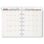"Day Runner Tabbed Month In View Dated Calendar Refill, 8 1/2""x11"""