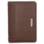 Day Runner Telephone/Address Bk, Small, 12 Tabbed, Brown