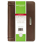 At-A-Glance Harrison Slim-Profile Organizer, One Week/Spread, 3-3/4 x 6-3/4, Brown