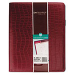 "At-A-Glance Bordeaux Monthly Planner, 13 Month, One Month/Spread, 8 1/2"" x 11"", Red"