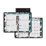 "At-A-Glance Elegant Floral Academic Planner Weekly, Monthly - 6"" x 12"""
